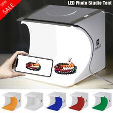 LED Photo Studio Photography Tent Light Room Cube Mini Box Backdrops Stand Set