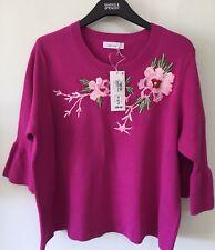 Gorgeous Fuchsia Pink Jumper 16- Ticket Price £39.50