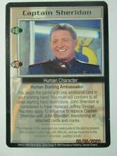 1999 Babylon 5 Ccg - Severed Dreams - Rare Card - Captain Sheridan ( Extra Card