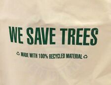 WE SAVE TREES Collectible ECO Recycle Bag Carry All Canvas Tote