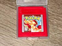 Pokemon Red Version Nintendo Game Boy Battery Saves Cleaned Tested Authentic