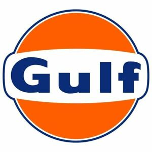 Gulf Oil 2 PACK Vinyl Decal Sticker - You Choose Size - FREE SHIPPING