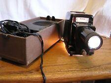Vintage Kodak Kodaslide Highlux 3 Slide Projector in Case Lights Up Blower Works