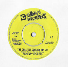 """COCKNEY REJECTS * THE GREATEST COCKNEY RIP-OFF * 7"""" SINGLE EMI Z2 PLAYS GREAT"""