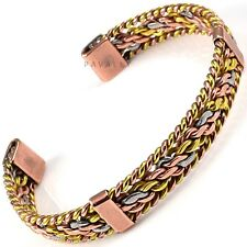 Ladies COPPER MAGNETIC BRACELET bangle carpal tunnel arthritis pain Womens NEW