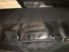 Lot of (3) Harley Davidson Luggage Travel Bag Black  Duffle Canvas Vinyl