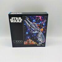 Buffalo Games Star Wars 1000 Pc Puzzle You're All Clear KId Millenium Falcon NIB