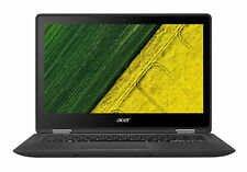 "Acer Spin 5 SP513-51 13.3"" (128GB, Intel Core i3 7th Gen., 2.4GHz, 8GB) Convertible 2-in-1 Laptop/Tablet - Black - NX.GK4EK.001"