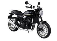 MAISTO 1/12 Finished Goods Bike Kawasaki Z900RS Metallic Spark Black w/ Tracking