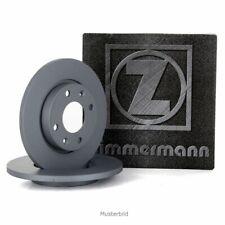 ZIMMERMANN Bremsscheiben Satz Ø 281mm für MAZDA CX-3 (DK) SKYACTIVE-D /-G hinten