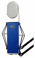 Blue Blueberry Condenser Studio Recording Microphone Mic w/ Shockmount+Case