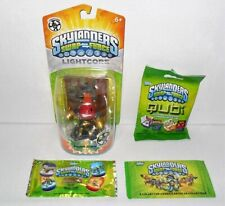 SKYLANDERS SWAP FORCE LIGHTCORE COUNTDOWN & DOG TAG COLLECTOR CARDS & QUBI LOT