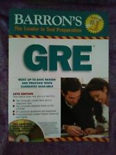(NEW) GRE Barron's The Leader in Test Preparation 18th Edition Book