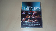 DVD  THE TEMPTATIONS one night in London