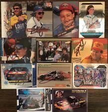 (35) 1990-2000s DALE EARNHARDT JR JEFF GORDON NASCAR STARS HOF LOT1 signed cards