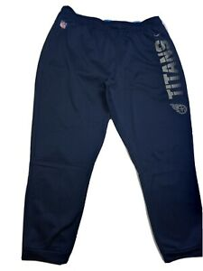 Nike Mens Tennessee Titans Sideline Therma Fleece Pants sz 4XL AO4096