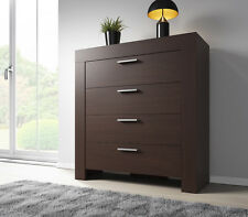 Chest of Drawers Rome 100 cm Dark Oak Wenge