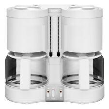 Krups KM8501 DuothekPlus Weiss Kombi-Kaffee-/Teemaschine 1100 W Tropfstopp