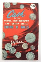 Vintage Cash For Your Coins Bills Canada United States Numismatic Book Q216