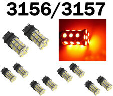 10x 3157 3156 3457 3057 3047 3155 3357 SMD 27 LED Bright Light Bulbs Red