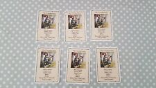 Heroquest Wizards of Morcar Men at Arms The Crossbowman Card Set - All 6 Cards
