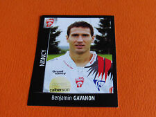 N°303 GAVANON  AS NANCY LORRAINE ASNL PANINI FOOT 2008 FOOTBALL 2007-2008