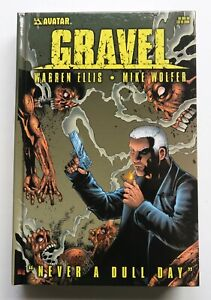 Gravel Never A Dull Day Hardcover NEW Avatar Graphic Novel Comic Book