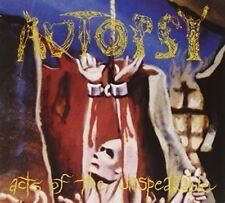 Autopsy - Acts Of The Unspeakable [CD]