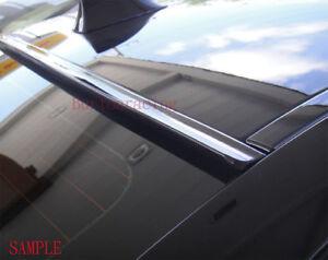 JR2 BLACK Color Painted Fit 2013-2019 CADILLAC XTS 4D-Rear Window Roof Spoiler