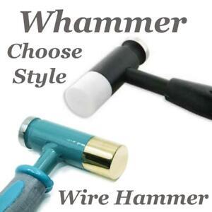 Beadsmith Whammer Filo Lavoro Martello Intercambiabili Teste Deluxe O Nuovo