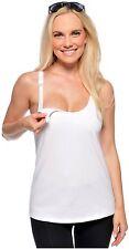 Melinda G Cami Sutra Nursing Cami WhiteFab! Curvy Small 32E-F