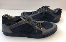 HOGAN REBEL Men's Size 9.5 Blue Canvas  Casual Fashion Sneaker Shoe
