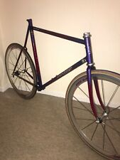 Vintage Dave Lloyd Reynolds 753 Steel Time Trial Road Frameset Shimano 600 Retro