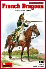 Miniart 1:16 scale model figure  kit - French Dragoon Napoleonic Wars  MIN16016
