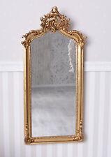 Espejo de pared Dorado Rococó madera ornamental Barroco baño