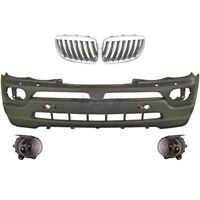 Set Bumper Front+Fog BMW X5 E53 Year 03-07 For Sra Only 3.0/4.4