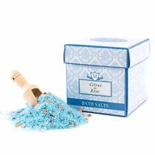 Mystix London agrume & rose parfumé bain SEL 350g (salt350fociro)