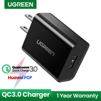 Ugreen QC 3.0 18W USB Wall Charger USB Fast Charging Adapter For Samsung S10
