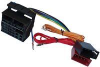 Adaptateur faisceau câble fiche ISO autoradio compatible Audi A2 A3 A4 A6 A8 TT