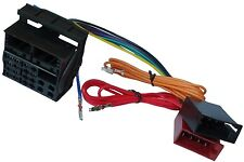 Adaptateur faisceau câble fiche ISO autoradio pour Seat Toledo Skoda Octavia 2