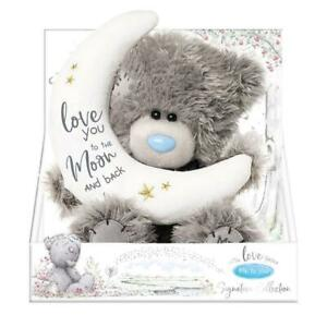 Tatty Teddy Me To You Signature Collection Plush - Love You to The Moon and Back
