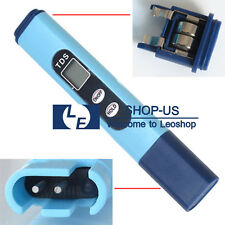 New TDS Tester Digital PH Meter Pool Hydroponic Water Quality Monitor 0-9999 PPM