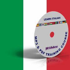 Learn To Speak fluent Italian Language Course DVD, MP3 & PDF, language of Italy