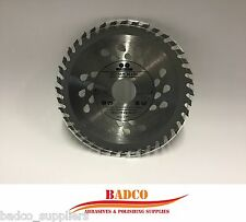( Pack of 3 ) 125mm Angle Grinder saw blade for wood 40 TCT Teeth