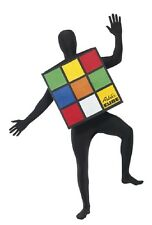 Costume Carnevale Adulto Cubo Rubik travestimento smiffys PS 20062