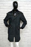 Cappotto Nero Donna LEVI'S REDTAB Taglia L Jacket Woman Giacca Coat Parka