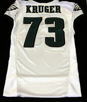 #73 Joe Kruger of Philadelphia Eagles NFL Locker Room Game Issued Jersey