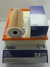 VW Passat 1.9 TDi Genuine Mahle Oil Air Filter Service Kit LX622 OX143D 2000-05