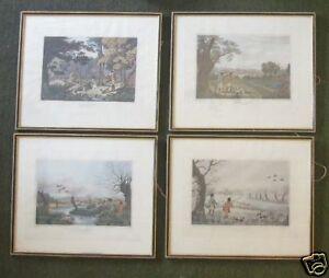 Victorian Shooting prints c1880.