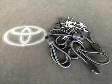 10 PCS NEW TOYOTA HILUX TONNEAU COVER REPLACEMENT BUNGEE STRAP AND RIVET BLACK